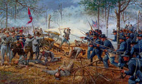 The Battle Of Shiloh Took Place As Part Civil War On April 6 7 1862 A Result Fall Forts Henry And Donelson General Albert Sidney
